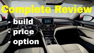 2018 Honda Accord EX - Build & Price Review - Features, Trims, Specs - Better Than
