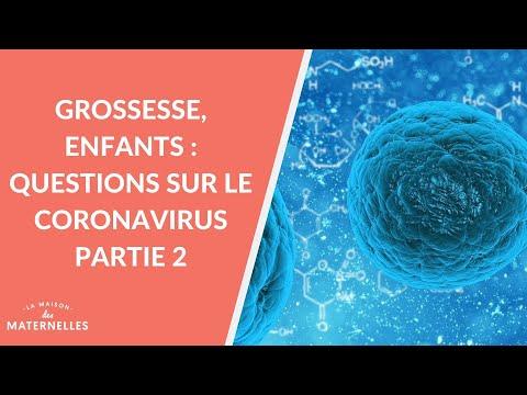 Grossesse, enfants: questions sur le coronavirus partie 1 - La Maison des maternelles #LMDM