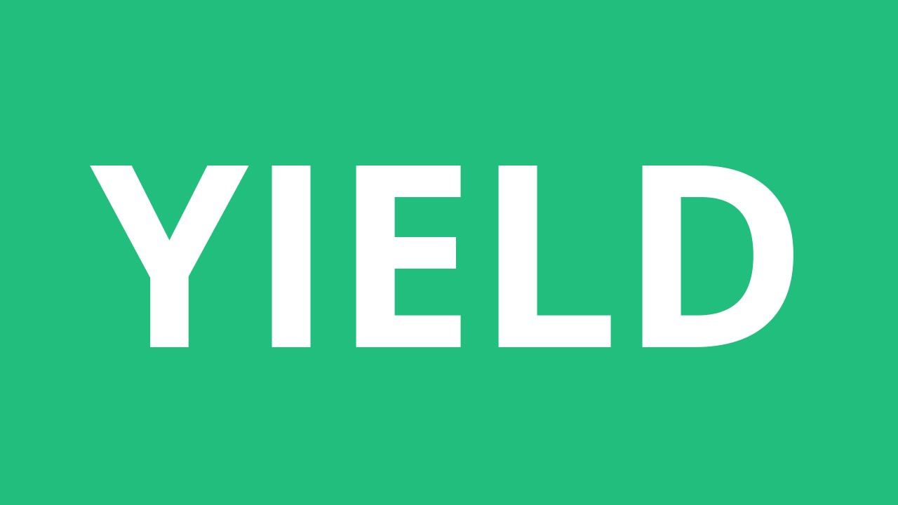 How To Pronounce Yield - Pronunciation Academy