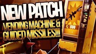 VENDING MACHINE! NEW PATCH v3.4 FORTNITE BATTLE ROYALE UPDATE - Method
