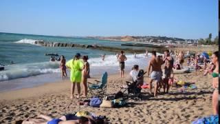 Севастополь. Любимовка. Пляж. Июль 2016(Видео снято 23 июля 2016 года на пляже в Любимовке (Севастополь), 2016-07-27T10:19:58.000Z)