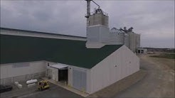 State of the art dry fertilizer storage and blending facility in Marysville, Ohio