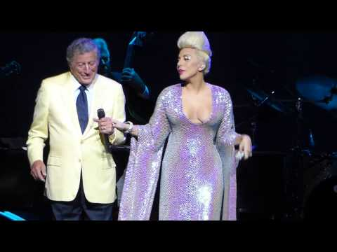 """Anything Goes & Cheek To Cheek"" Tony Bennett & Lady Gaga@Borgata Atlantic City 7/24/15"