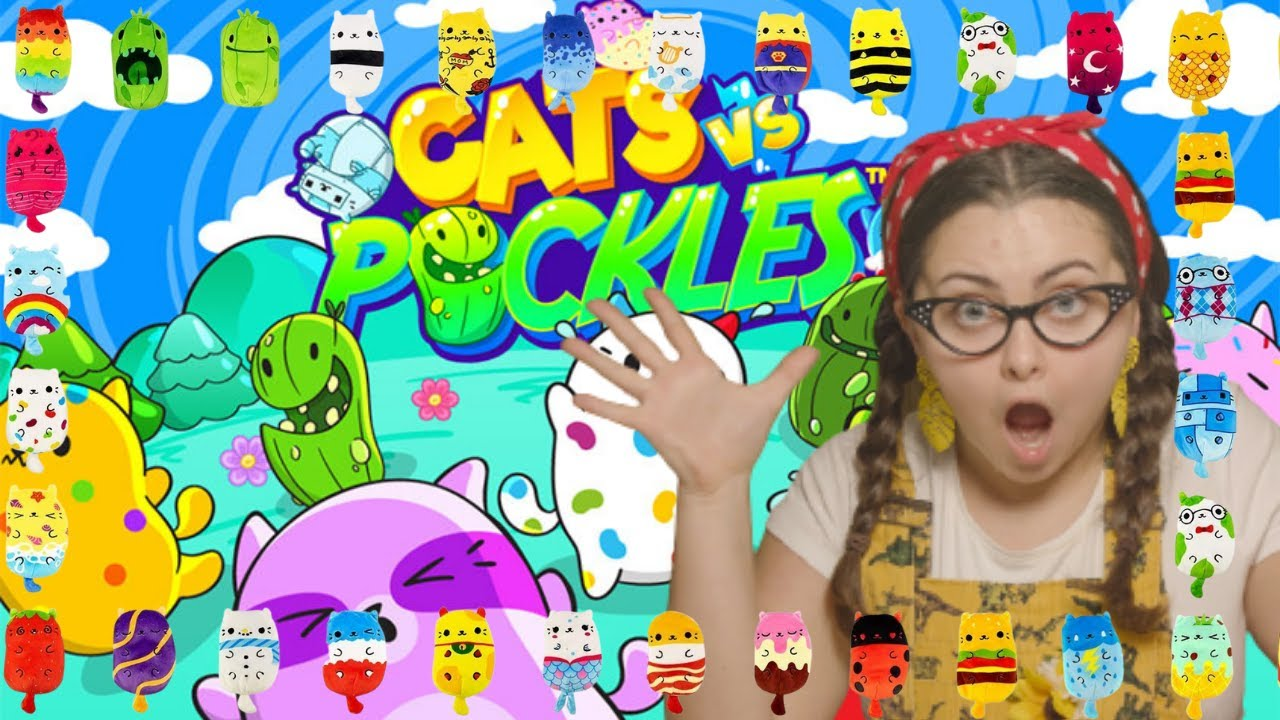 Download Cats vs Pickles Toy Review  Series 1 Plushies - Tiny Treehouse TV