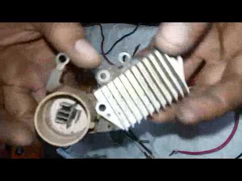 How to check alternator auto voltage regulator (AVR) working automatically  or not