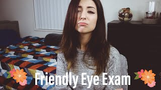 [ASMR] FRIENDLY EYE EXAM