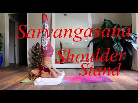 yoga for dummies sarvangasana shoulder stand  youtube
