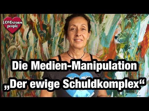 """Die Medien-Manipulation """"Der ewige Schuldkomplex""""  Medien – zwischen Information und Manipulation"""