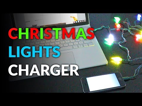 Leah Tyler Blog - A Festive Way To Charge Your Phone!