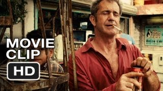 Get The Gringo Movie CLIP - Driver Meets the Kid (2012) Mel Gibson Movie HD