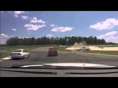 20150523 - Barber Motorsports Park, BMWCCA Club Race, Race 1 Crash