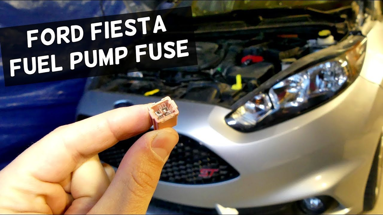 Ford Fiesta Fuse Box Location 2011 : Ford fiesta fuel pump fuse replacement location youtube