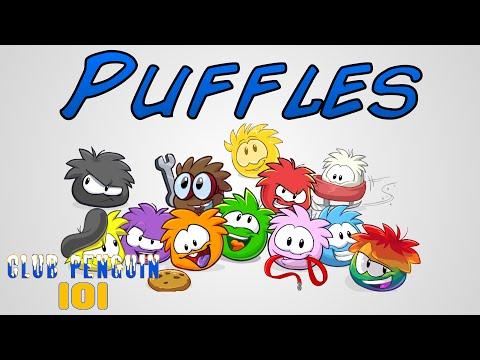 Puffles - Club Penguin 101