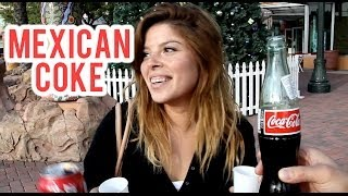 MEXICAN COKE CHALLENGE - Can People Tell The Difference?