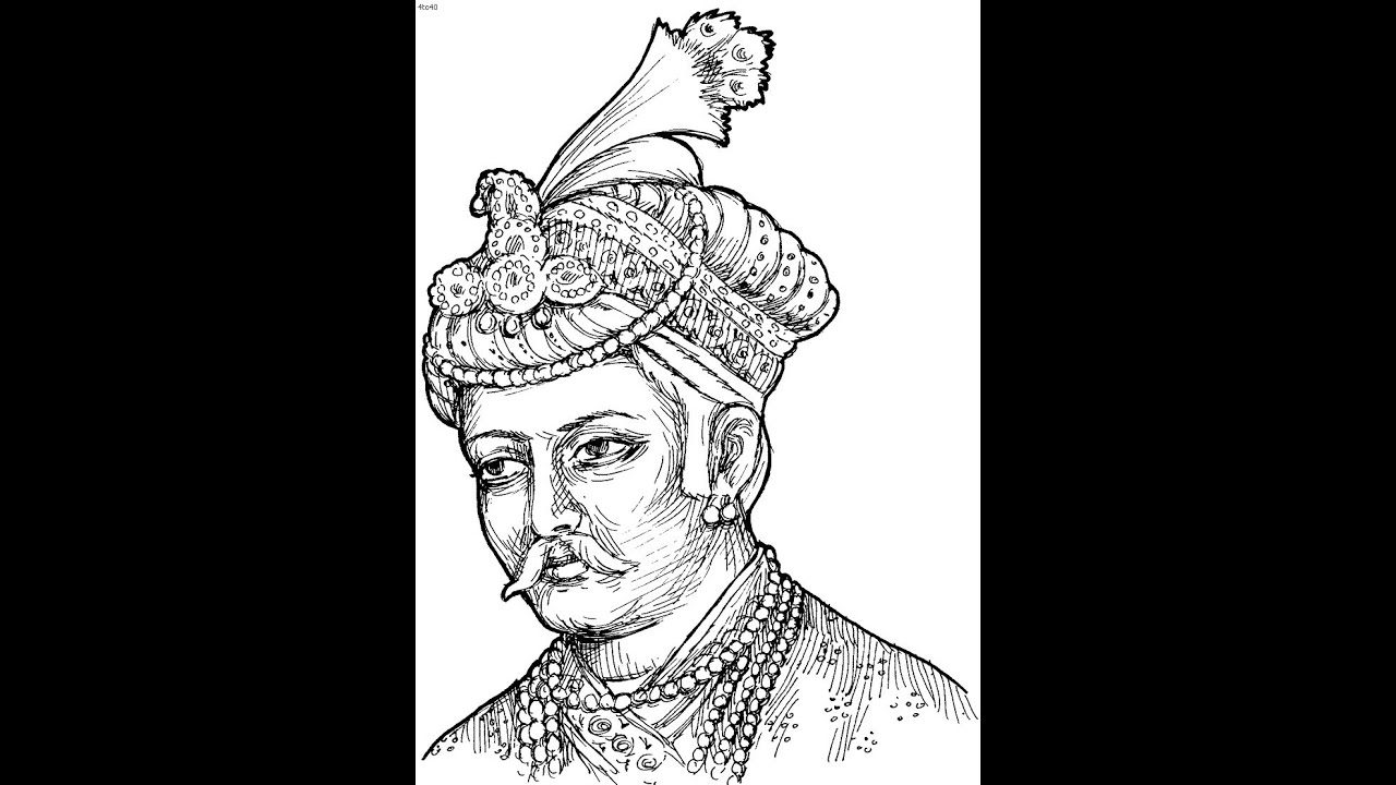 king portrait coloring pages - photo#29