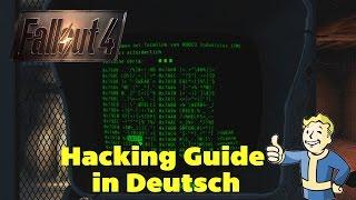 Fallout 4 - Guide #01 Hacking ◈ Deutsch German Anleitung