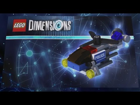 Lego Dimensions Police Helicopter Build Instructions Lego City Fun