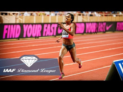 Genzebe Dibaba's World Record 1500m At Herculis Meeting Monaco In 2015 - Flashback