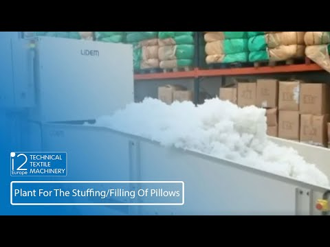 Plant For The Stuffing/Filling Of Pillows