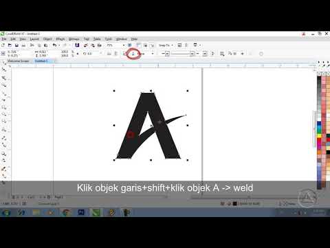 Tutorial Membuat Logo Adventure - CorelDraw X7.