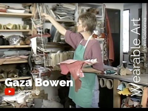 Wearable Art from California: Gaza Bowen
