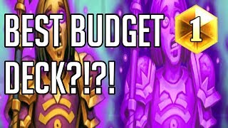 This Might be the Best Budget Deck in Hearthstone?!?! (Silence Priest: Rise Of Shadows)