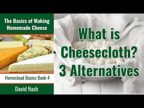 Alternatives to Cheesecloth