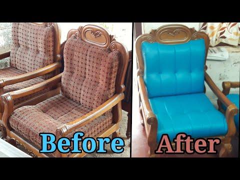 DIY- How to reupholster a sofa