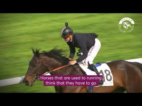 Tour de piste Qatar Prix de l'Arc de Triomphe avec Antoine Hamelin