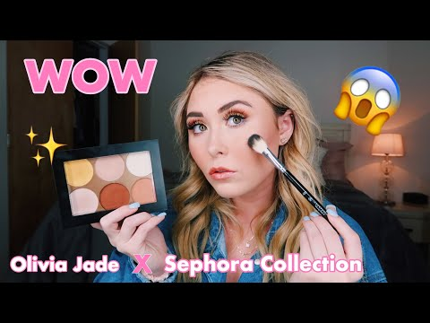OLIVIA JADE X SEPHORA COLLECTION PALETTE || First Impressions, Review, Swatches, & Demo thumbnail