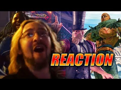 MAX/EVO REACTS: Sagat & G Trailers - Street Fighter V