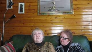 Sue and Jan on Monday 6th March