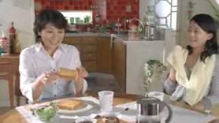 松下由樹さん、原田佳奈さん出演のフジパン「本仕込食パン」のCMです。