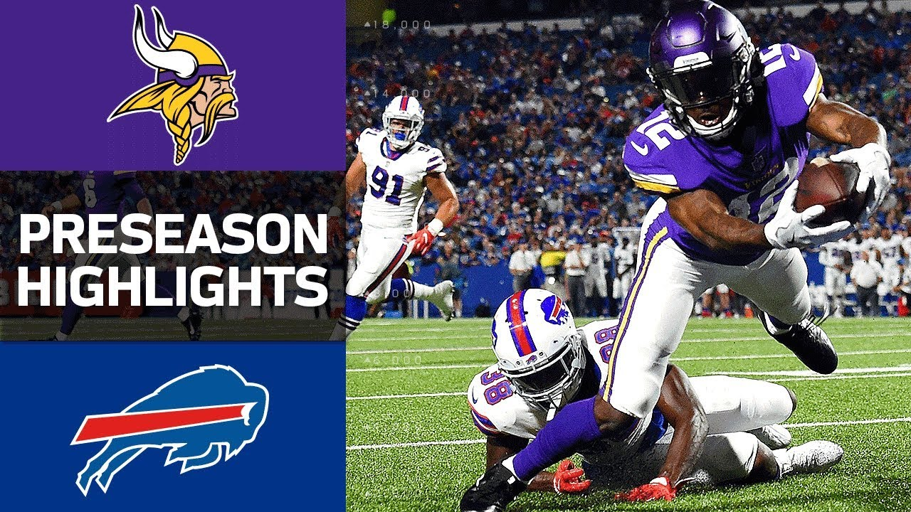 4a4db94c Vikings vs. Bills | NFL Preseason Week 1 Game Highlights