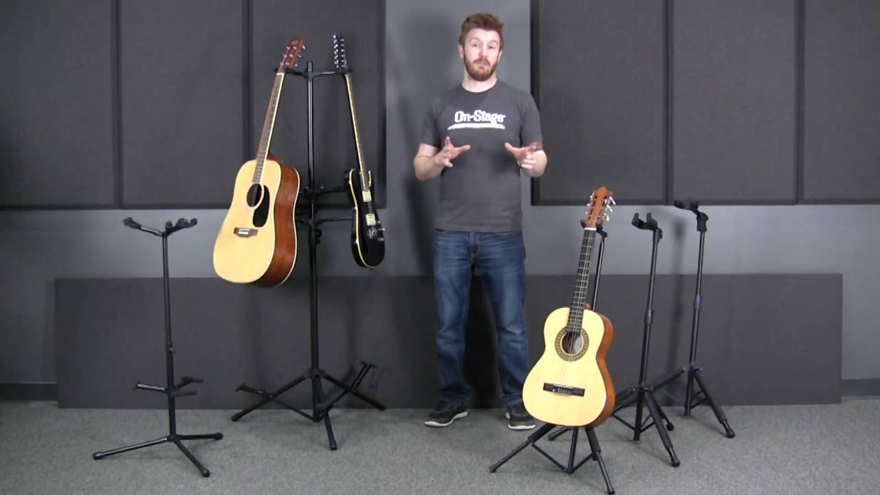 what guitar stand should i buy by on stage youtube. Black Bedroom Furniture Sets. Home Design Ideas