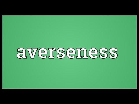 Header of averseness