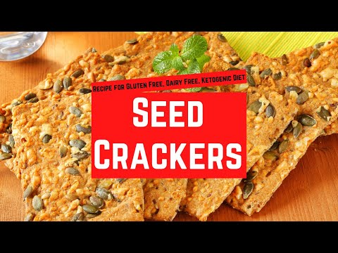 Cheese and pumpkin seed crackers recipe
