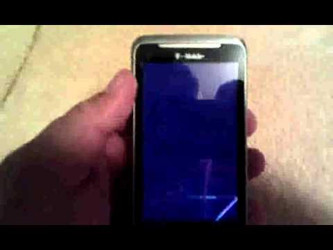 T-Mobile G2 Broken LCD