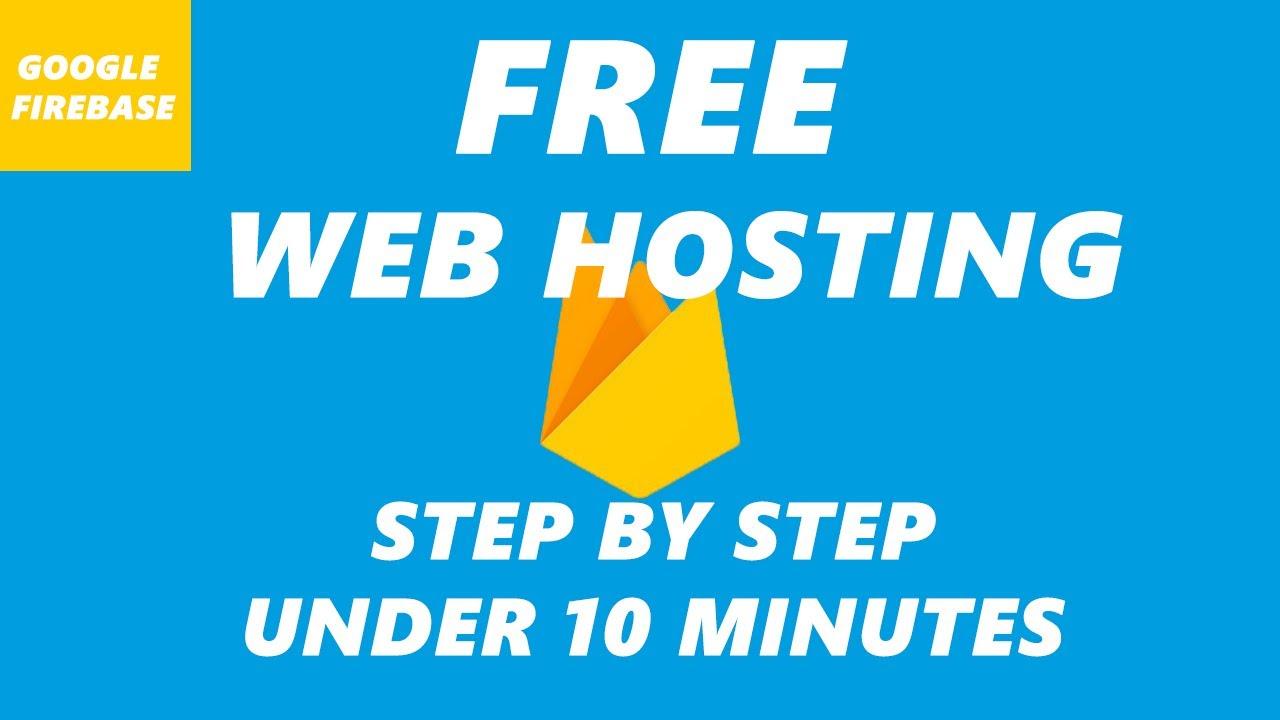 How to Host A Website for FREE - Google Firebase Website Hosting Tutorial For Beginners