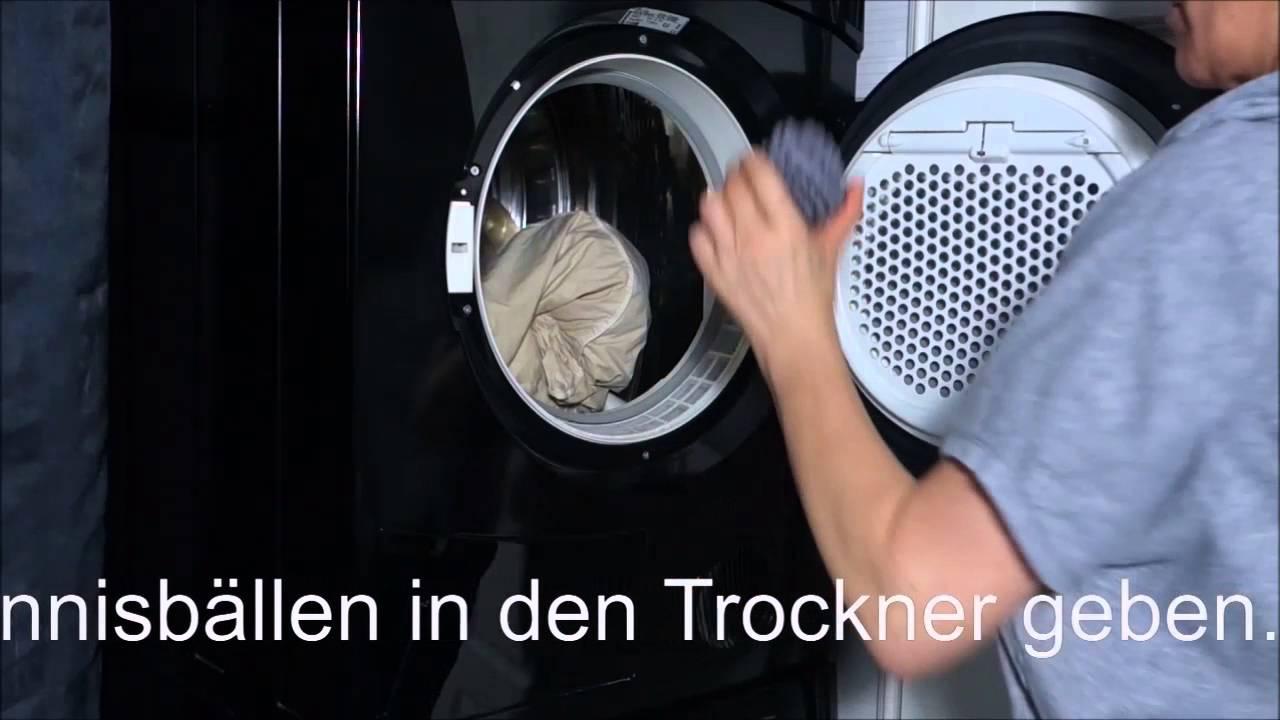 Federbetten In Der Waschmaschine Waschen Waschtraum Pflegetipps