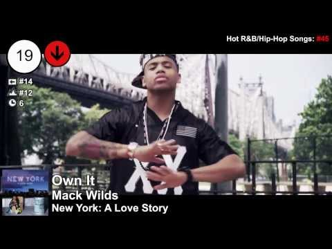 Top 25 - Billboard R&B Songs | Week of January 4, 2014