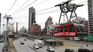 Riding The Roosevelt Island Tramway In New York City