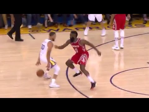 Steph Curry COOKS James Harden Hits Three! Game 3 Rockets vs Warriors