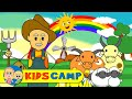 Old MacDonald had a Farm With Farm Animals + More Nursery Rhymes And Kids Songs by KidsCamp