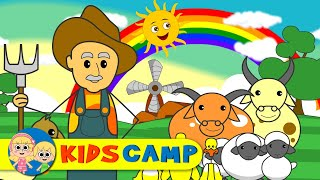 Old MacDonald had a Farm   Nursery Rhymes   12 Minutes Compilation from Kidscamp