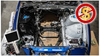 PAINTING MY ENGINE BAY WITH ONLY $20 DOLLARS!!