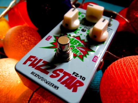 Biyang Fuzz Star FZ -10 Demo | Probably the best FUZZ pedal under 50$