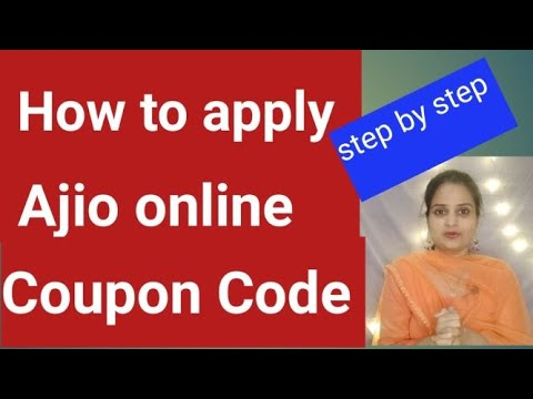 How to apply Ajio Coupon code/explained step by step in Telugu/Redeem trends coupons now.