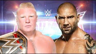 Brock Lesnar vs Batista Wrestlemania 32 Promo HD