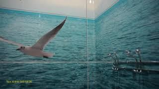 Отделка ПВХ панелями ванная+туалет